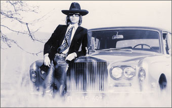 Fernand Legros et sa  Roll Royce
